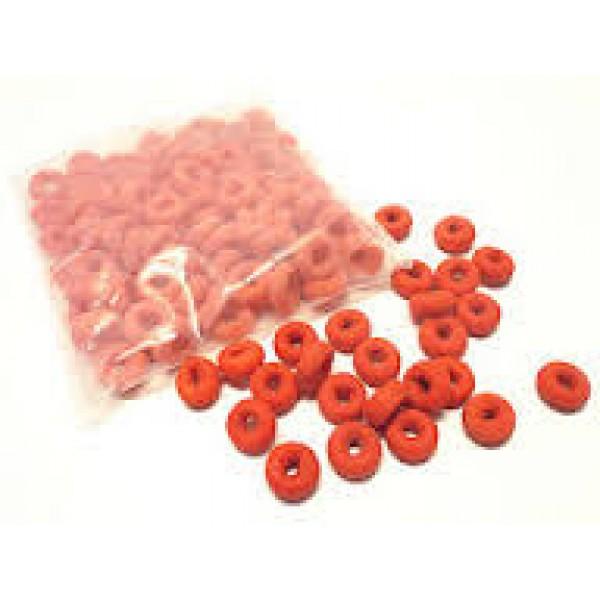 Оранжеви гумени ластици 100 бр.